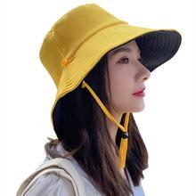 Летняя шляпа в рыбацком стиле Женская Корейская версия анти
