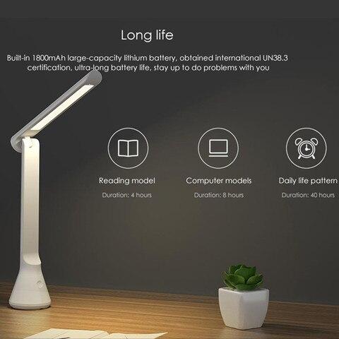 mesa portatil luzes 40 horas com duracao