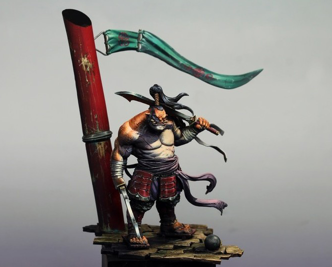 1/24 75MM  Ancient Warrior With Sword 75mm   Resin Figure Model Kits Miniature Gk Unassembly Unpainted