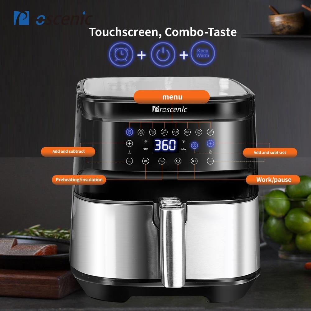 Digital touch Air Fryer  4
