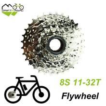 Bicicleta 8 velocidade roda livre 11-32t 11-34t 8 s roda livre parafuso sobre