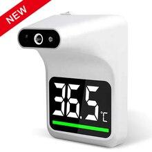 Настенный бесконтактный инфракрасный ЛОБНЫЙ термометр, инфракрасный цифровой бесконтактный прибор для измерения температуры лба