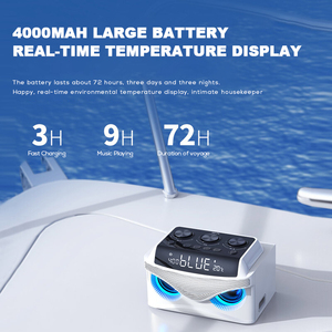 Image 4 - SOAIY S68 Mini LED Speakers 25W Portable Wireless Bluetooth Speaker Smart Bass Outdoor with 3 Drivers Support FM TF Fast Ship