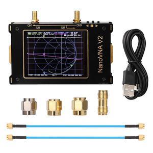 Analyseur de réseau vectoriel SOLLED S-A-A-2 VNA V2 3G analyseur d'antenne de 3.2 pouces