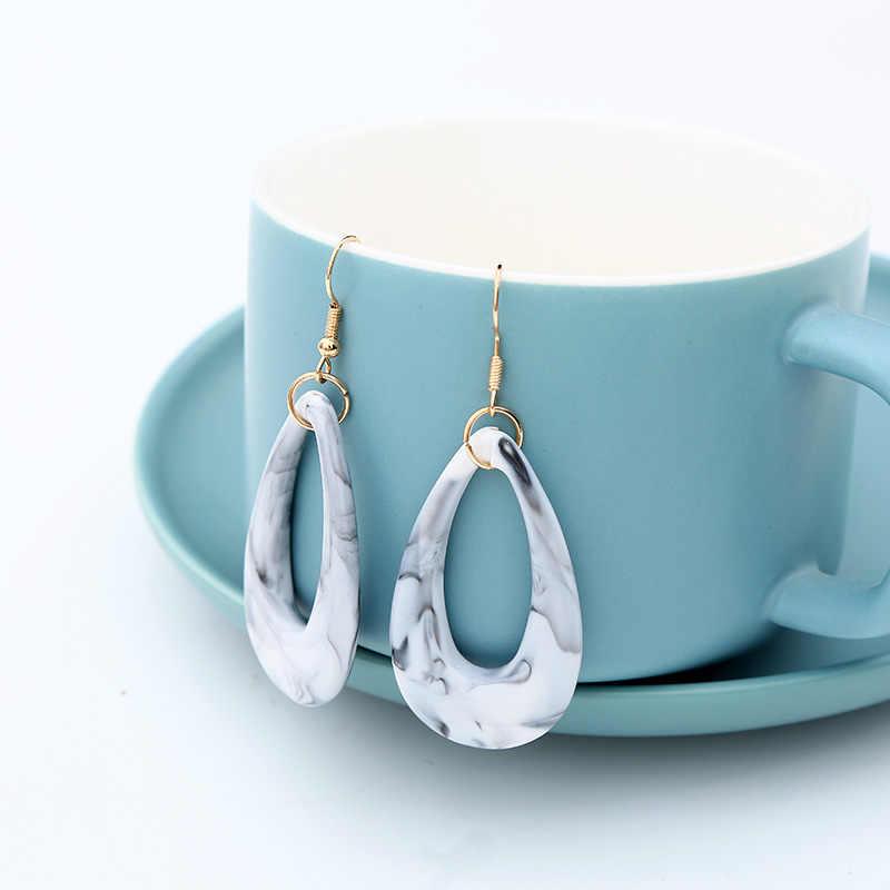 VINTAGE สีสันอะคริลิคเรซิ่นลูกปัดชุดเครื่องประดับจี้ชุดสร้อยคอต่างหูชุดสำหรับงานแต่งงานของขวัญ NE + EA