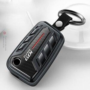 Новый ABS чехол для автомобильного ключа для Volkswagen VW Golf 7 MK7 Magotan Passat B8 CC 2017 2018 Skoda Superb A7 Octavia чехол для дистанционного ключа