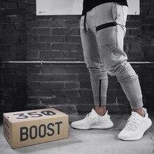 New fitness pants casual sports pants fashion high waist pants men's jogging pan