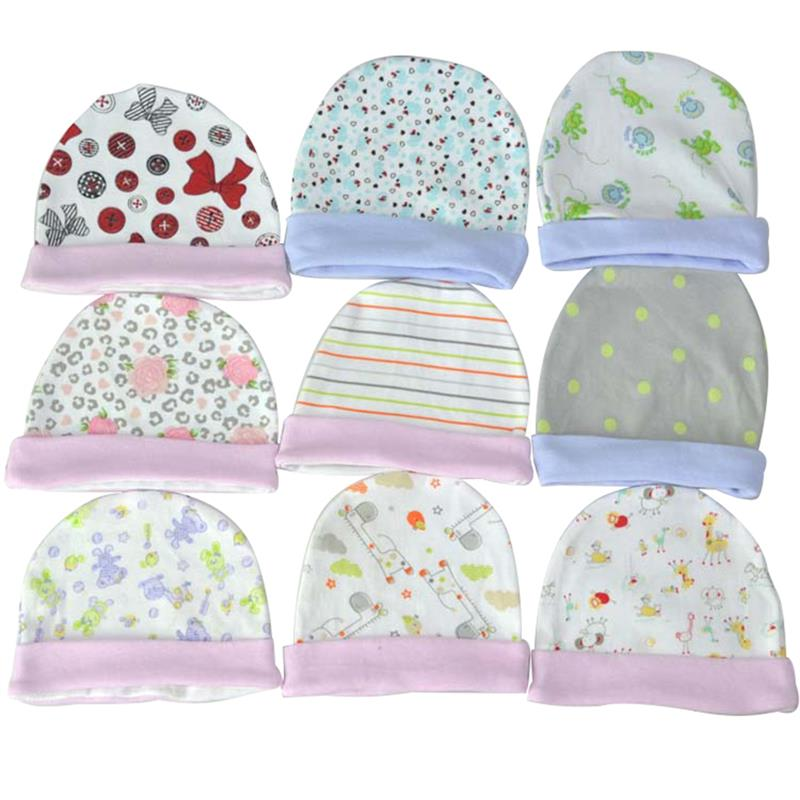 1Pc Cotton Baby Hat Baby   Baseball     Cap   Clothing Accessories Breathable Floral Printing Children'S Hat Random Style Dropshipping