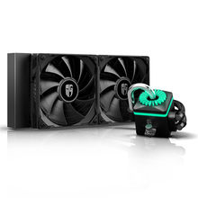 DEEPCOOL – refroidisseur à liquide pour processeur Intel LGA 240 2011 115X 2066, 1366mm, noir, CAPTAIN 240X, AMD TR4 AM4 AM3