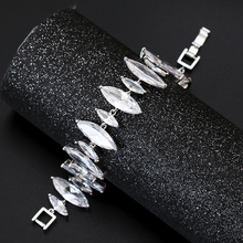 6 Styles Luxury Bracelet AAA Cubic Zircon Paved Precision Rhodium Plating Summer Girlfriend Gift XIUMEIYIZU Brand Jewelry