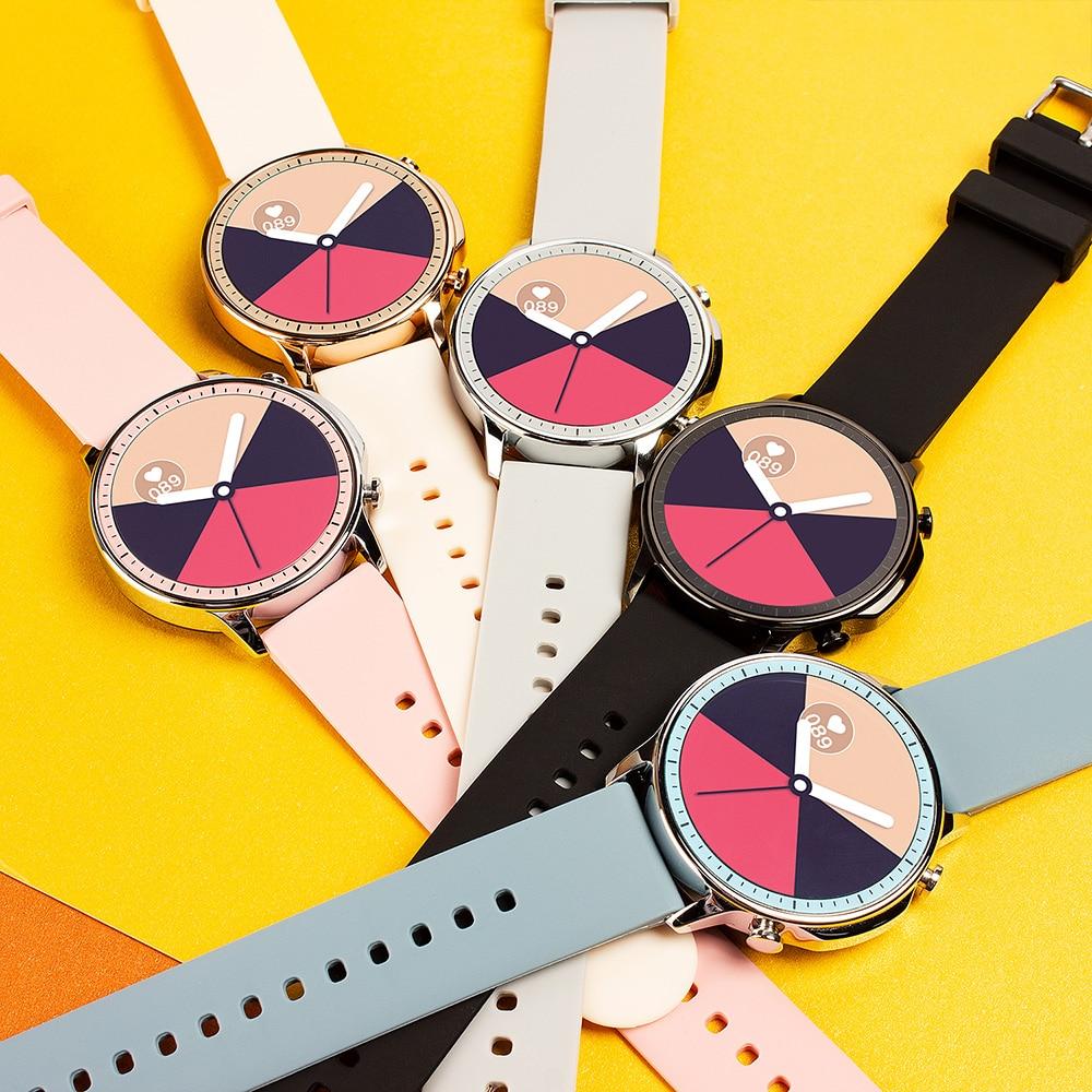 Ha71f52f69a9147d3a71a30c3f04e9d25l COLMI V23 Women Smart Watch Full Touch Fitness Tracker IP67 Waterproof Blood Pressure Smart Clock Men Smartwatch