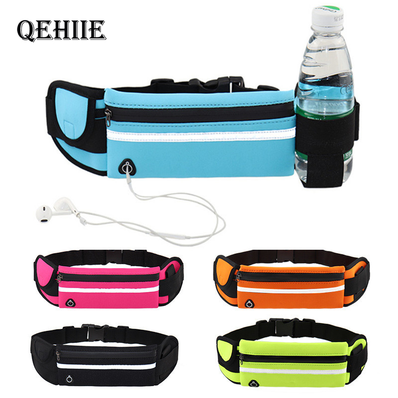 Waist Bag Belt Bag Running Waist Bag For Men Sports Portable Gym Bag Hold Water Cycling Phone Bag Waterproof Women Running Belt