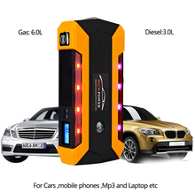 Car Jump Starter 800A Peak Current Battery Fashionable Battery Booster Diesel Petrol Starting Emergency Auto Power Bank new car jump starter for petrol 6 0l diesel 4 0l starting power bank auto battery portable pack booster free shipping