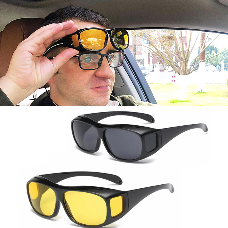 Driving Car Driver Glasses Riding Sunglasses Unisex Polarized Cars Sun Glasses Eyewear UV Protection Night Goggles