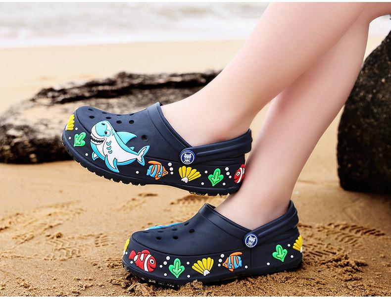 2017 New fashion children garden shoes children cartoon sandal babies summer slippers high quality kids garden children sandals (16)