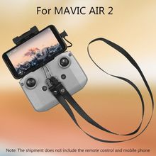 Portable Remote Control Stand Holder Mount with Lanyard for DJI MAVIC AIR 2 Drone Accessories Kit pgytech landing gear extension propellers motor holder fixator remote control screen guard neck lanyard for dji mavic 2 pro