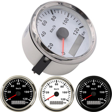 GPS Speedometer Moto Auto-Tachometer Universal Boat 85mm Km/H Waterproof 120 for Bmw