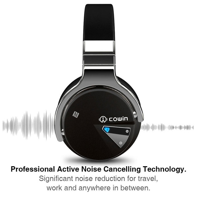 Cowin E-7 Bluetooth Headphones anc active noise cancelling 2
