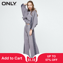 Pants Knitted 2019 Wide-leg