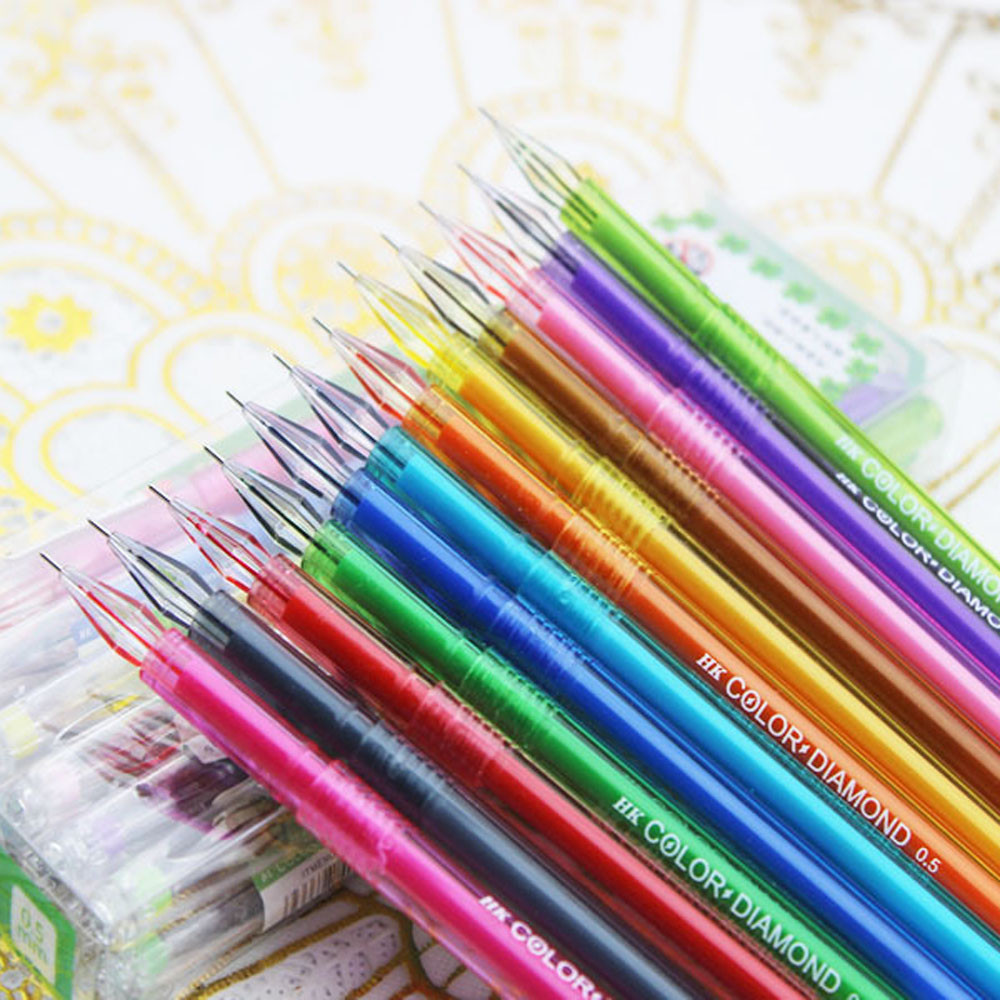 Novelty Candy Colors Colorful Gel Pen Set School Supplies Colored Gel Pens Writing Tool Office School Supplies Stationery