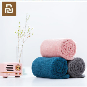 Image 2 - Youpin Towel 100% Cotton Strong Water Absorption Bath Soft and Comfortable Beach Face Hand Towels 32 X 70cm