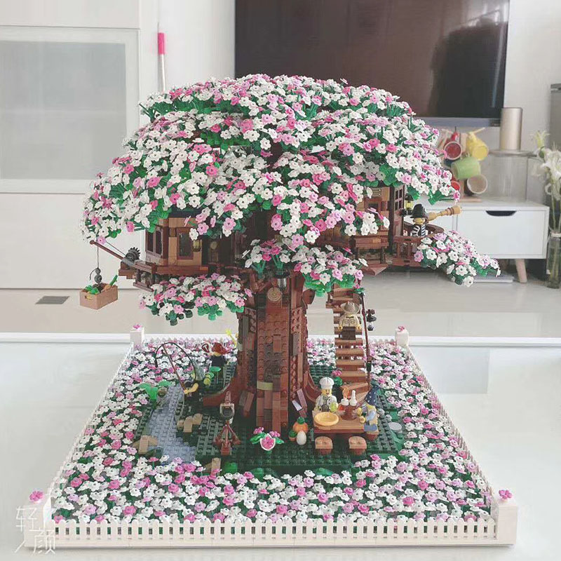 In Stock 21318 Legoingkys Friends Hidden Side Tree House The Biggest Ideas Model 3000+Pcs Building Blocks Bricks Kids Toys Gifts
