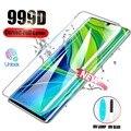 Закаленное стекло 99D с полным покрытием для Xiaomi Mi 10 Ultra Pro, Защита экрана для Xiaomi Mi Note 10 Pro 11, аксессуары для телефонов