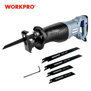 WORKPRO Electric Saw Reciprocating Saw for Wood Metal Cutting DIY Power Saws with Saw Blades magic saw multipurpose magic saw diy handy saw 8 blades