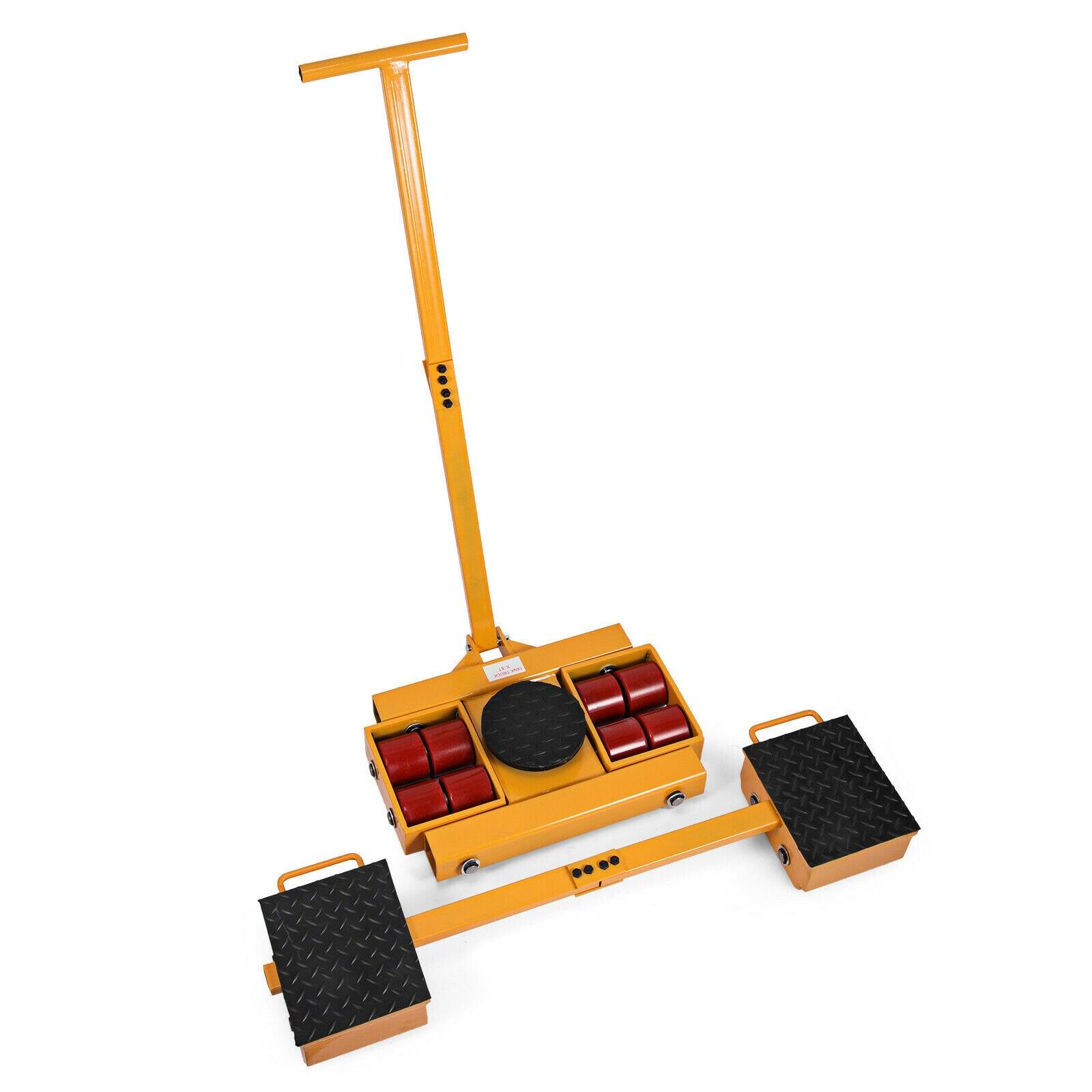 Machine Moving Skate Kit 12Tonne/12000kg Load Skates