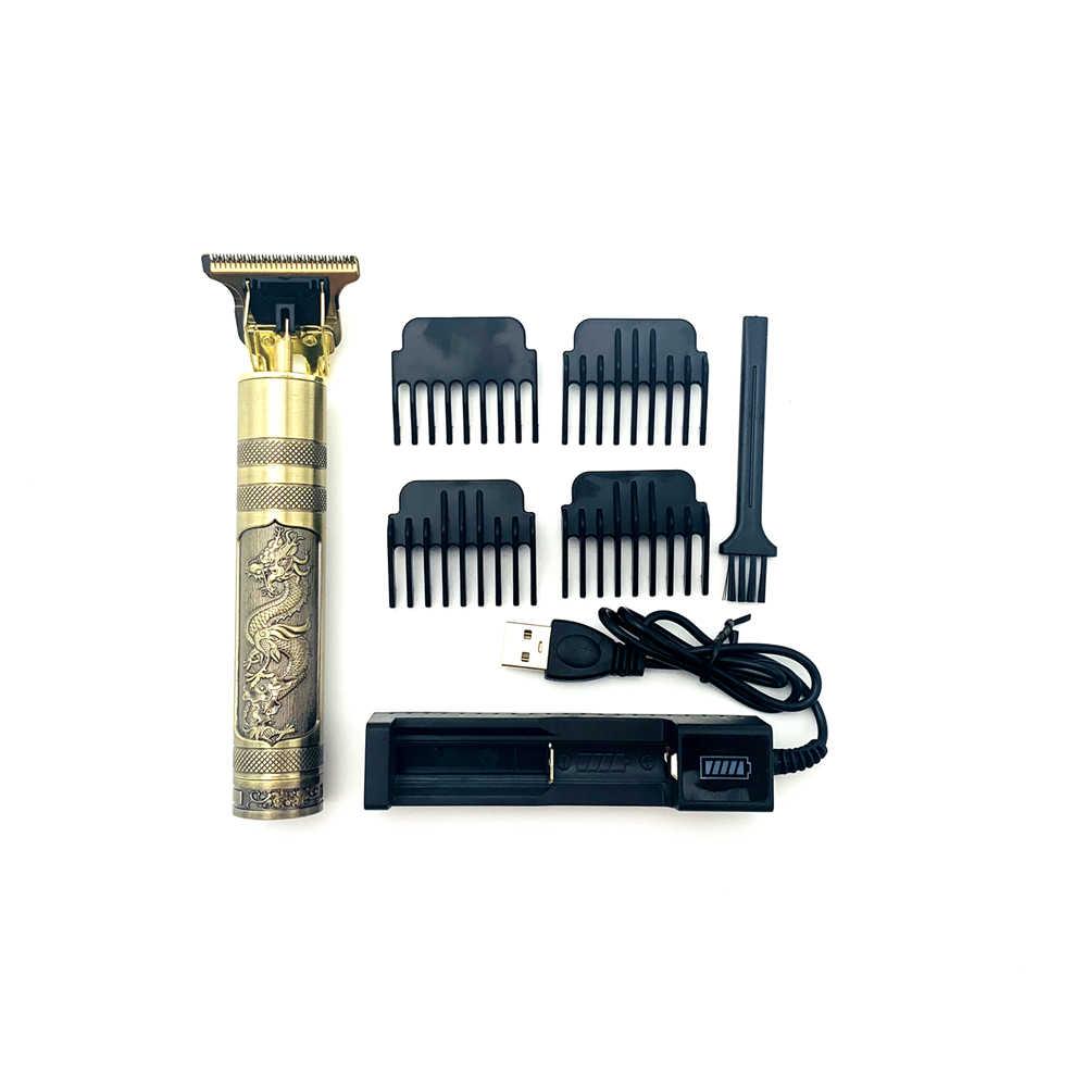 Беспроводная отделка Триммер для волос профессиональная машинка для стрижки волос борода для мужчин тример машинка для стрижки волос переработанная к andis gtx gto d8 blade