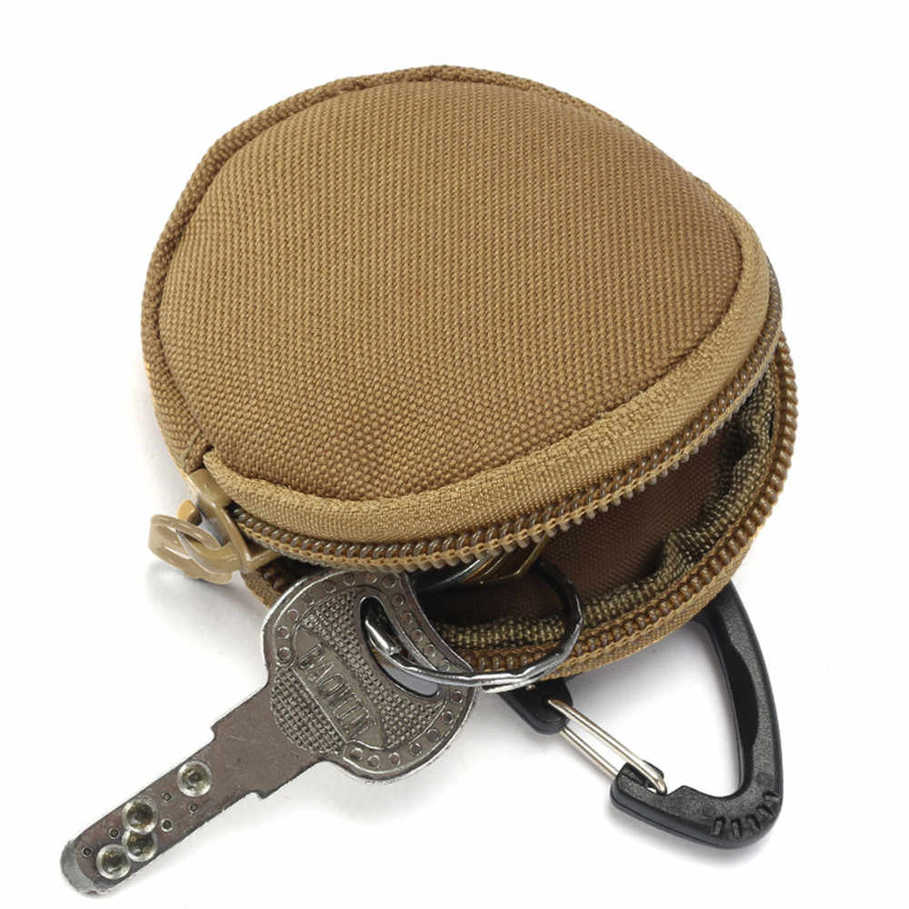 Tactical Outdoor Military Key Pouches Hunting Folding Key Wallets Camouflage Bag