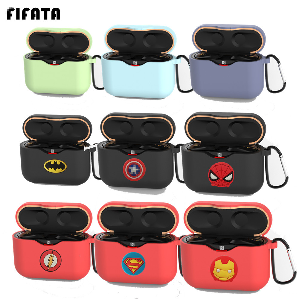 FIFATA For Sony WF-1000XM3 Wireless Bluetooth Earphone TPU Case Cover For WF-1000XM3 Silicone Protective Cover Sport Accessories