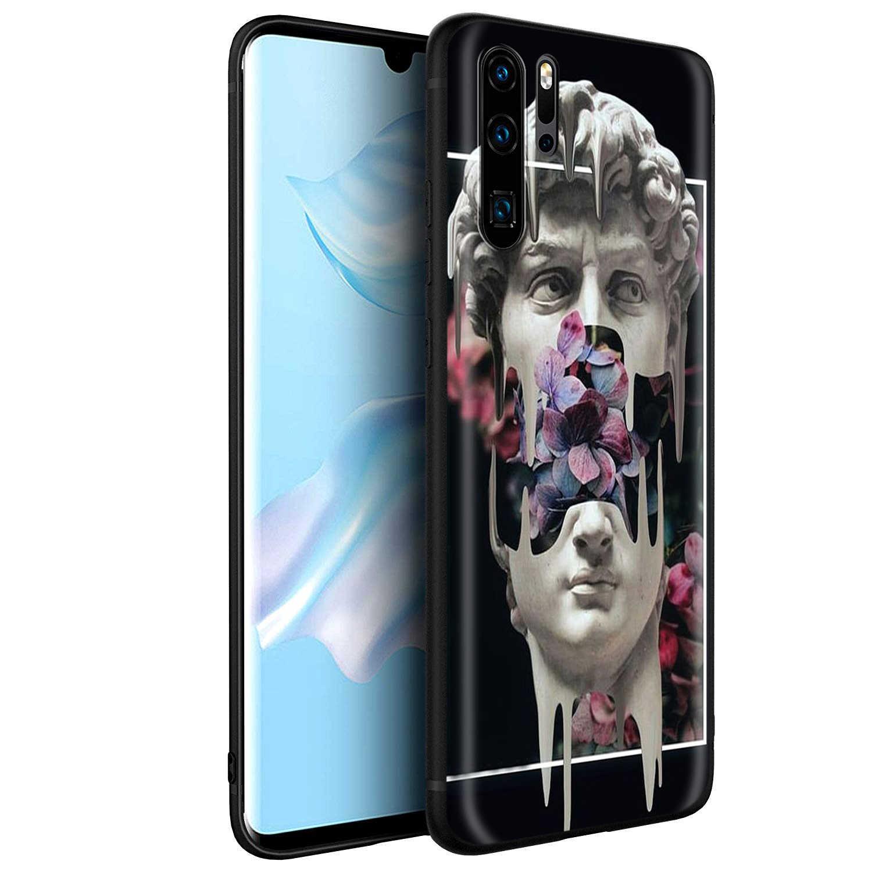 YIMAOC michel-ange Art Statue esthétique Silicone étui pour huawei Mate 10 P8 P9 P10 P20 Lite Pro P Y7 Y9 Smart Mini 2017 2018
