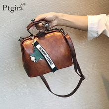 купить Women Handbag Leather Shoulder Bag Female Doctor Crossbody Handbag Star Pendant Tassel Rivets Casual Famous Brand Women Bags soc дешево