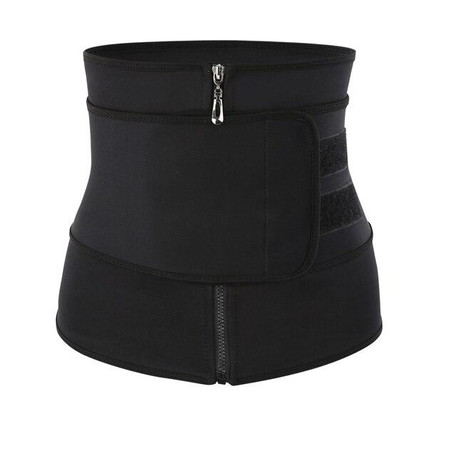Waist Trainer Thermo Belt Sweat Waist Trainer Girdle Corset Women Tummy Body Shaper Shapewear Fat Burning Fitness Modeling Strap
