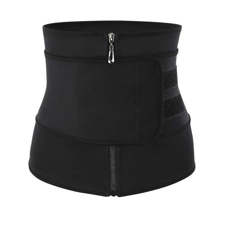 허리 트레이너 열 벨트 땀 허리 트레이너 거들 코르셋 여성 배가 몸 셰이퍼 shapewear 지방 레코딩 휘트니스 모델링 스트랩