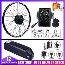 Передний мотор Bafang 48 В, 500 Вт, бесщеточная Шестерня для велосипеда, комплект для переоборудования электрического велосипеда 20, 26, 27,5, 700C, двиг...