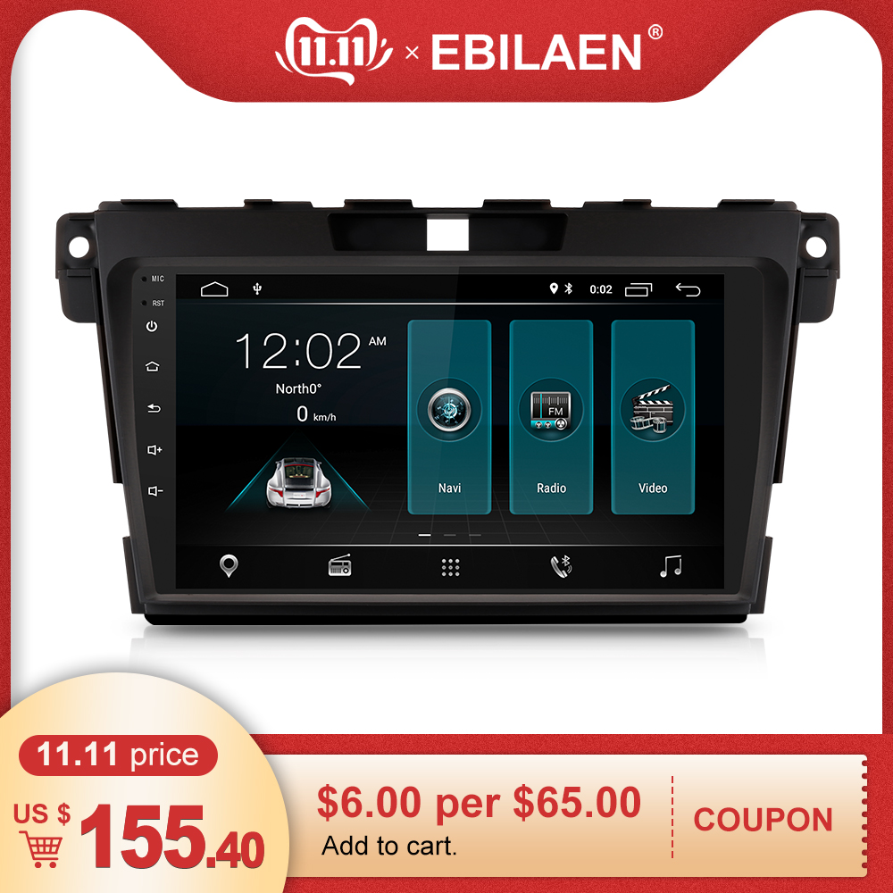 Car Radio Multimedia Player For <font><b>Mazda</b></font> CX7 <font><b>CX</b></font>-7 <font><b>CX</b></font> 7 Autoradio 2Din Android <font><b>9</b></font>.0 GPS Navigation Tape Recorder Stereo IPS Screen image