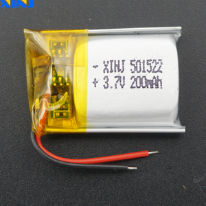 XINJ 5 шт. 3,7 в 200 мАч 501522 литий-полимерный аккумулятор li po литий-ионный аккумулятор для DIY MP3/MP4 музыкальный плеер gps Sat nav Автомобильная dvc камера