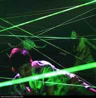 Laser array für escape zimmer spiel adventurer prop laser labyrinth für Kammer von geheimnisse spiel intresting und riskieren grün laser spiel