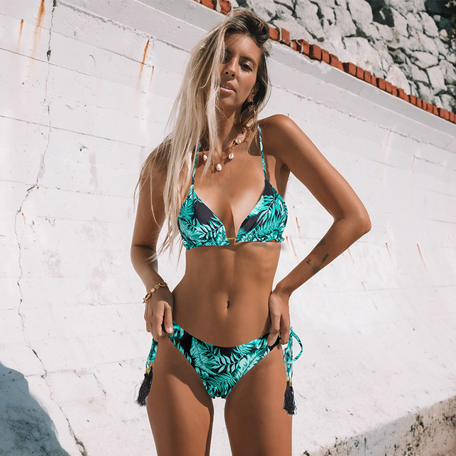 Kvietkované dámske bikini Vasia