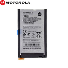 Motorola NEW Original 1750mAh EB20 Battery for motorola XT910 912 MB886 RAZR MT917 MT887 High Quality Battery + Tracking Number