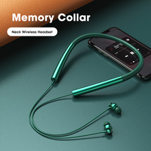 ספורט ריצת אוזניות, אוזניות אלחוטיות עם מיקרופון, Bluetooth 5.0 אוזניות עם רעש ביטול מיקרופון, עמיד למים Neckband