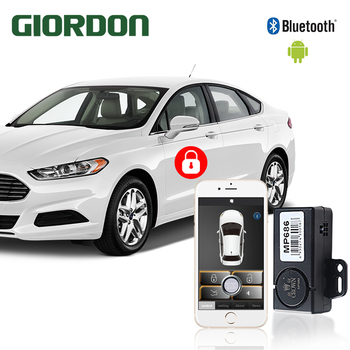 Universal CarVehicle Keyless Entry System With Mobile phone Remote Controllers Car close to open the lock, leave the lock MP686