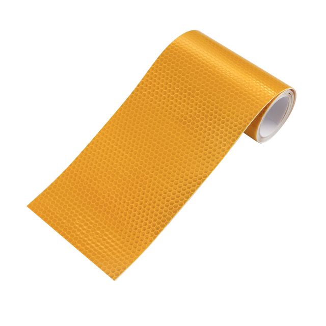 10cmx3m Safety Mark Reflective tape stickers car styling Self Adhesive Warning Tape Automobiles Motorcycle Reflective Film