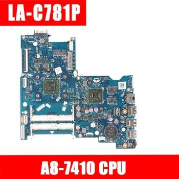 LAIHENA ABL51 LA-C781P 813971-501 813971-001 Main board For HP 15-AF Laptop motherboard HD8600 2GB GPU A8-7410 CPU DDR3