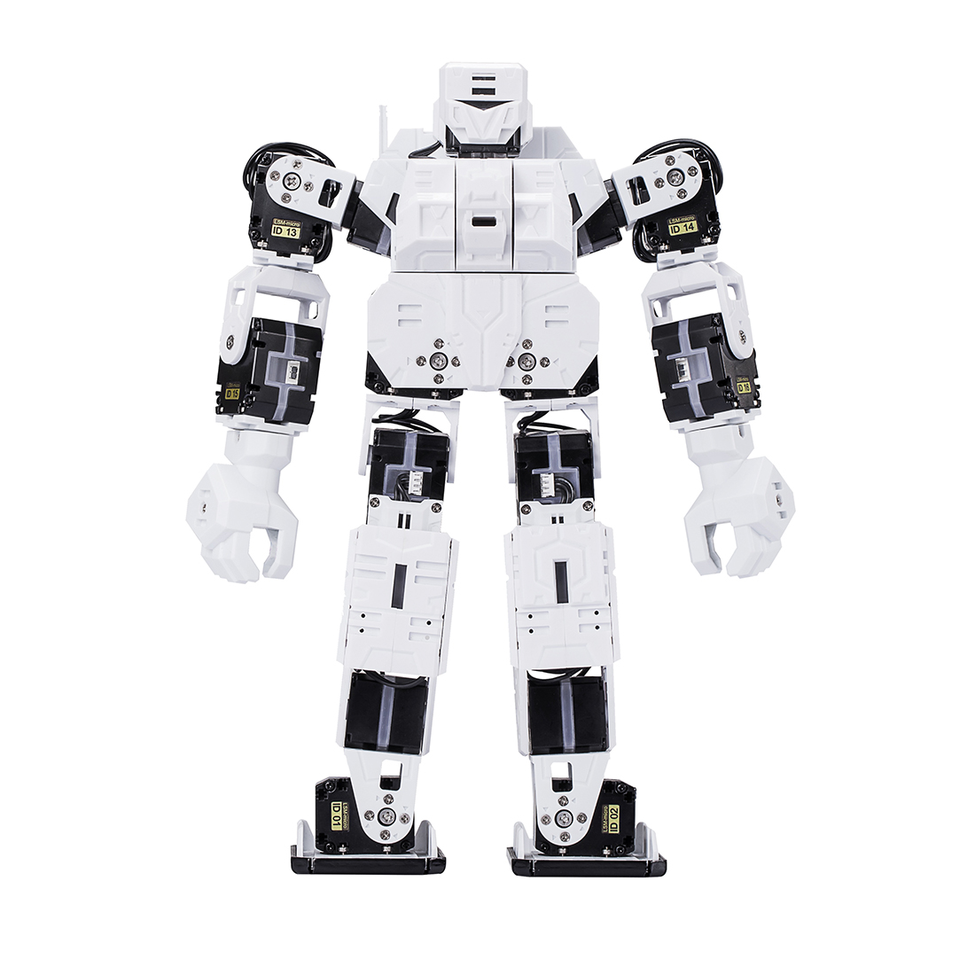 New Hot 27cm My DIY Robot Creative Time LINE-Core M Graphical Programmable Humanoid Robot Educational Robot Kit - White/Red/Blue