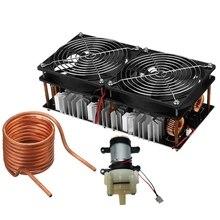 12-48 в 2500 Вт ZVS индукционный нагреватель нагревательный Модуль платы блока программного управления обратный драйвер с насосом для автомобильной промышленности