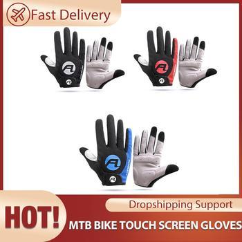 Guantes antideslizantes para bicicleta de montaña, resistentes a altas temperaturas y al...
