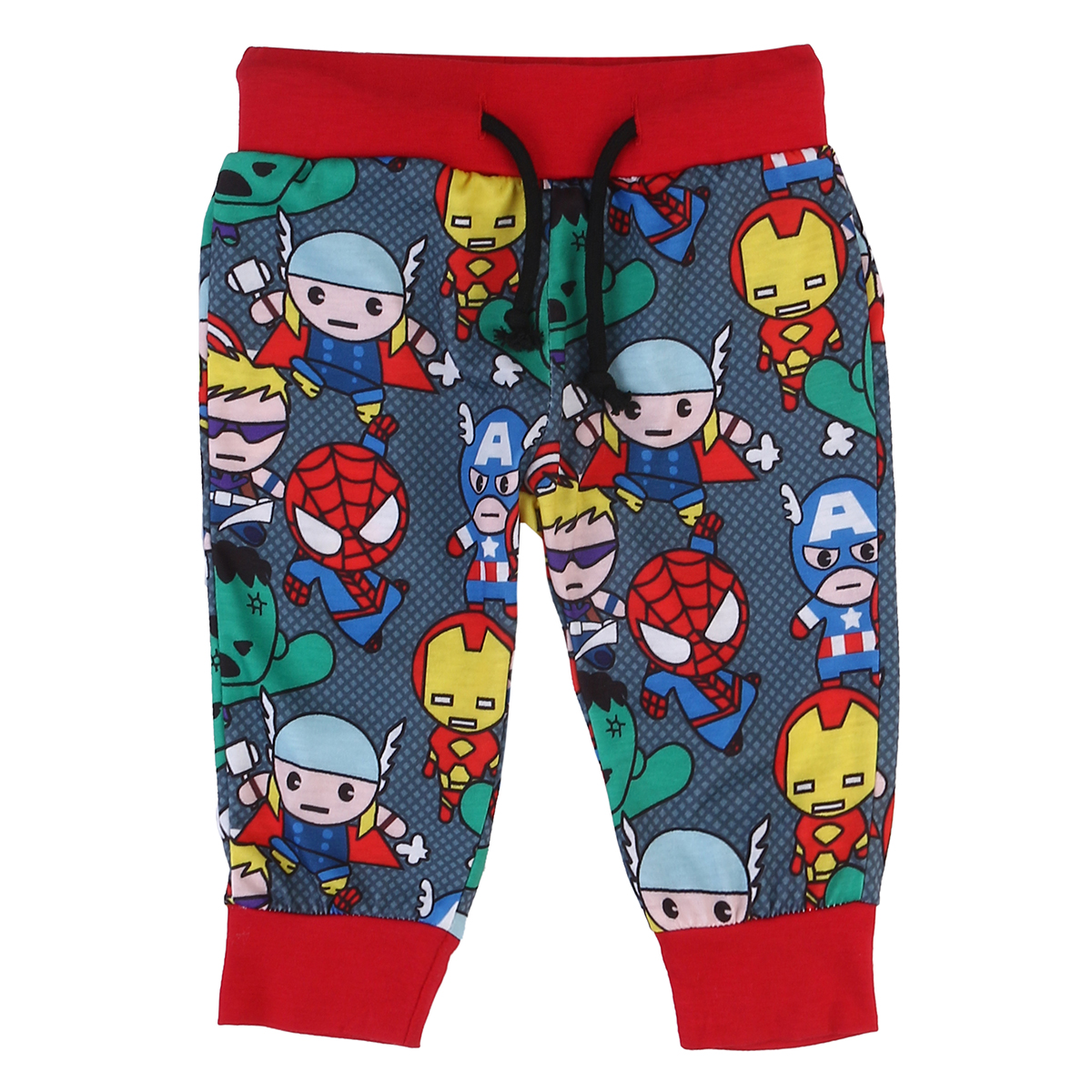 Newborn Kids Baby Boys Cotton Cartoon Printed Long Pants Drawstring Buttom Clothes Leggings Outfits